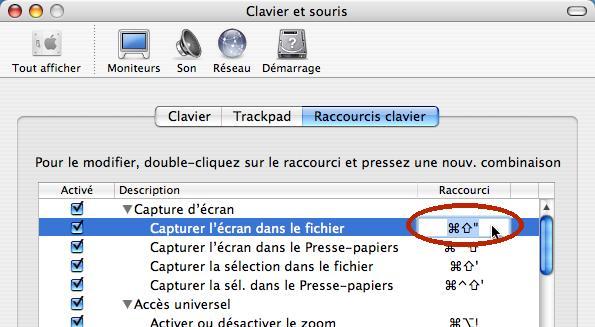 Apple Panther Shortcuts change