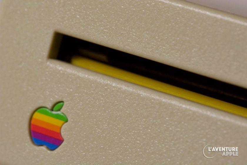 Apple 800K Transportation Yellow floppy disk