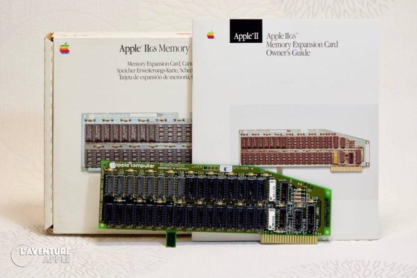 Apple IIgs memory expansion card 256k