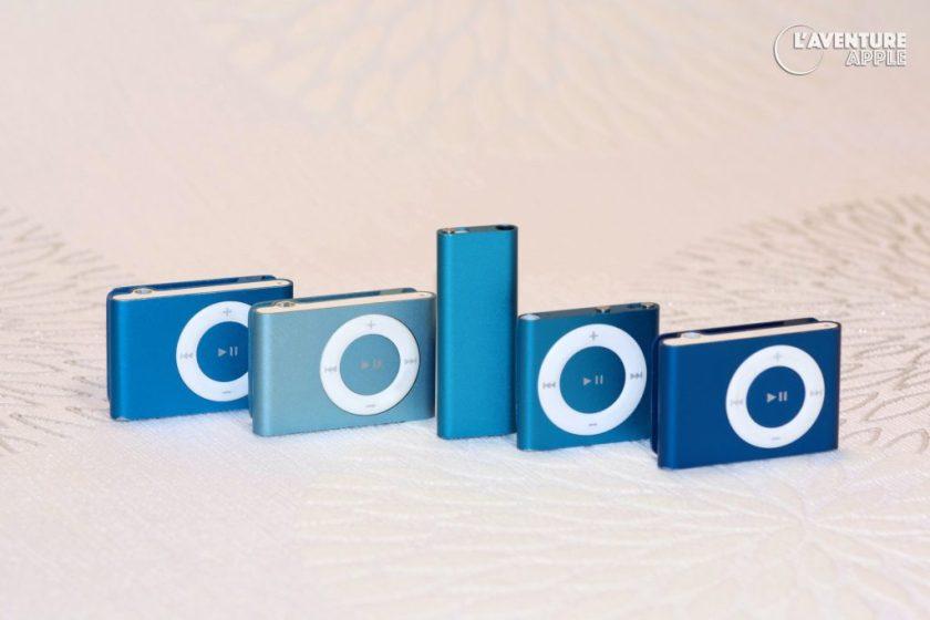 Colors iPod Shuffle - Blue