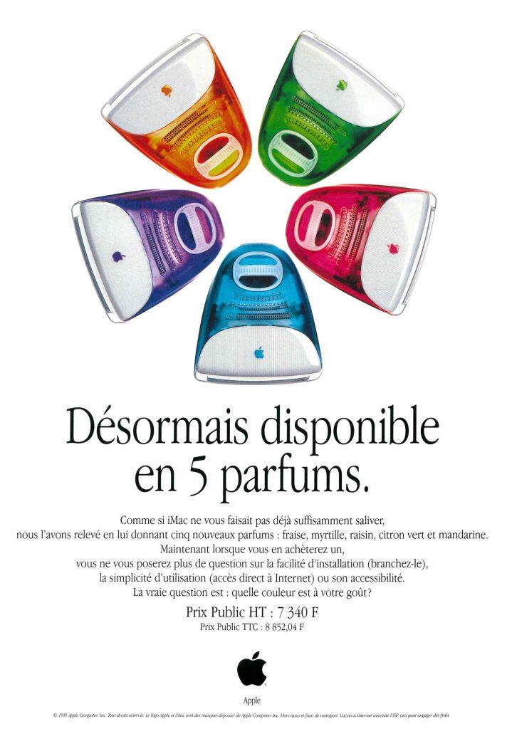 Apple 1999 iMac colors Yum Miam