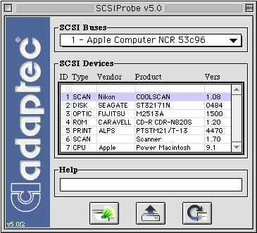 SCSIProbe Adaptec