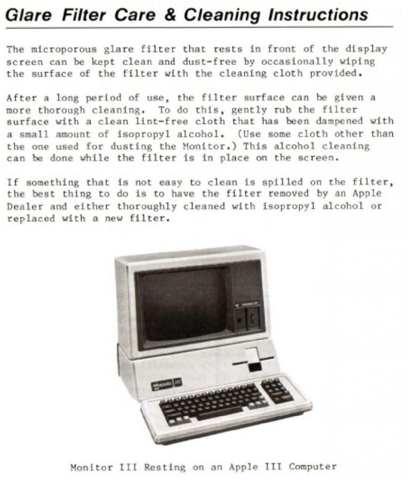 Monitor III user manual