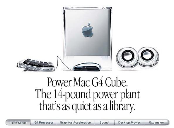 Power Mac G4 cube internet