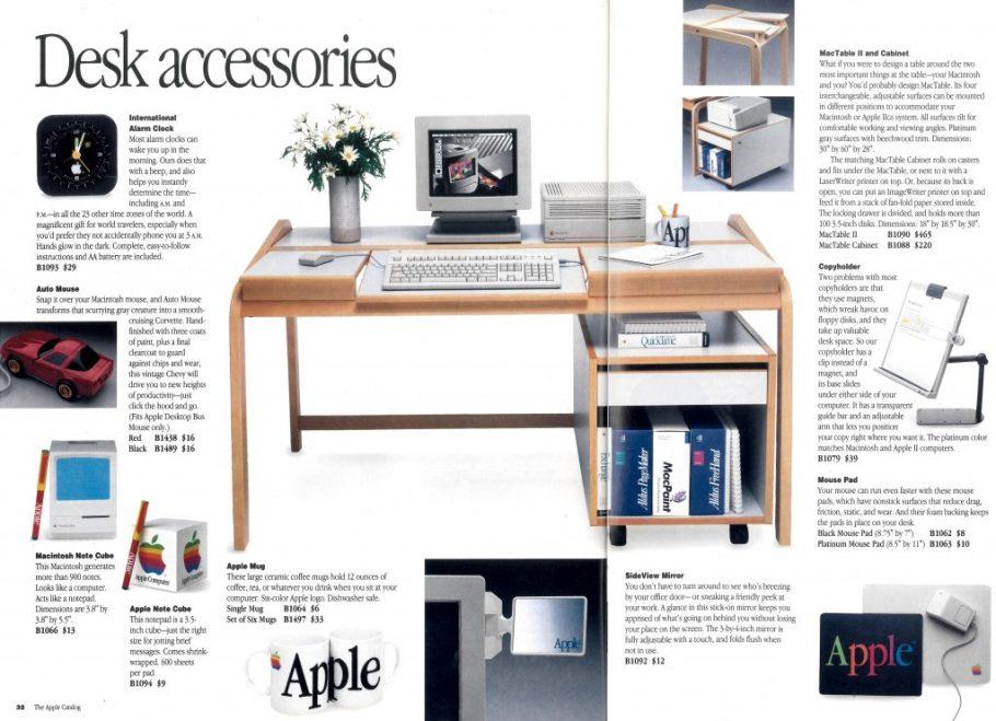 Apple sideview mirror Apple Catalog 1993