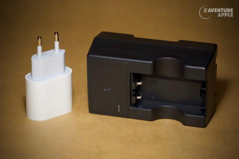 iPhone 11 pro power adapter vs Newton