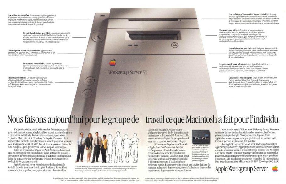 Apple Workgroup Server 95
