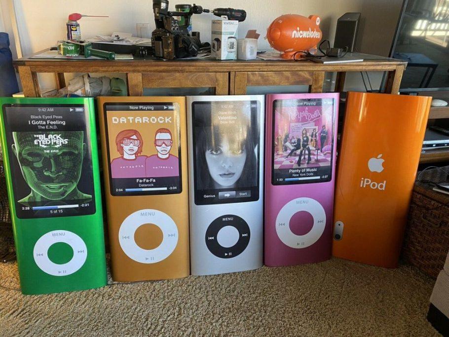 Apple Store iPod promo