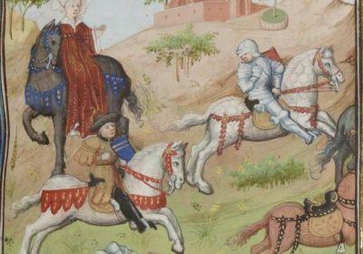 Nouveaux costumes médiévaux 2017 pour les chevaux - Spectacle équestre Aventure au galop