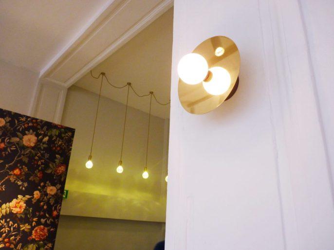 Luminaires en laiton