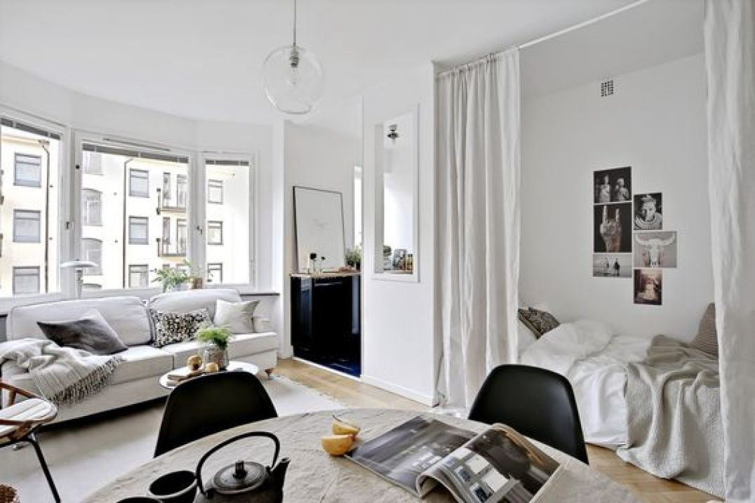 comment am nager un studio aventure d co. Black Bedroom Furniture Sets. Home Design Ideas