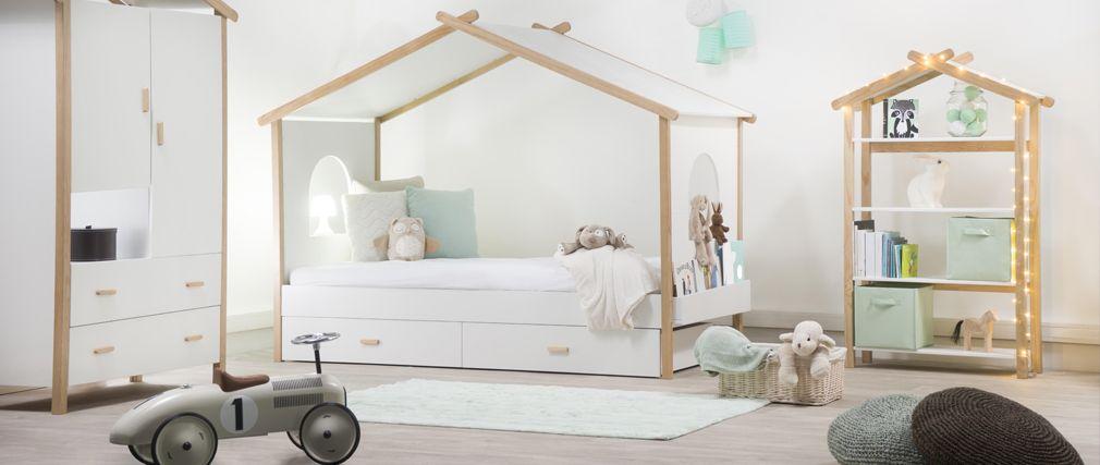 Un Lit Cabane Pour Une Chambre Denfant Aventure Dco