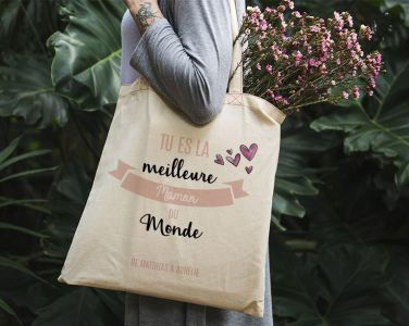 Fête des mères : Faites des heureuses avec des totes bag personnalisés