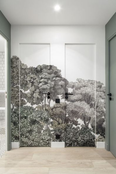 Rebel Walls-Green House