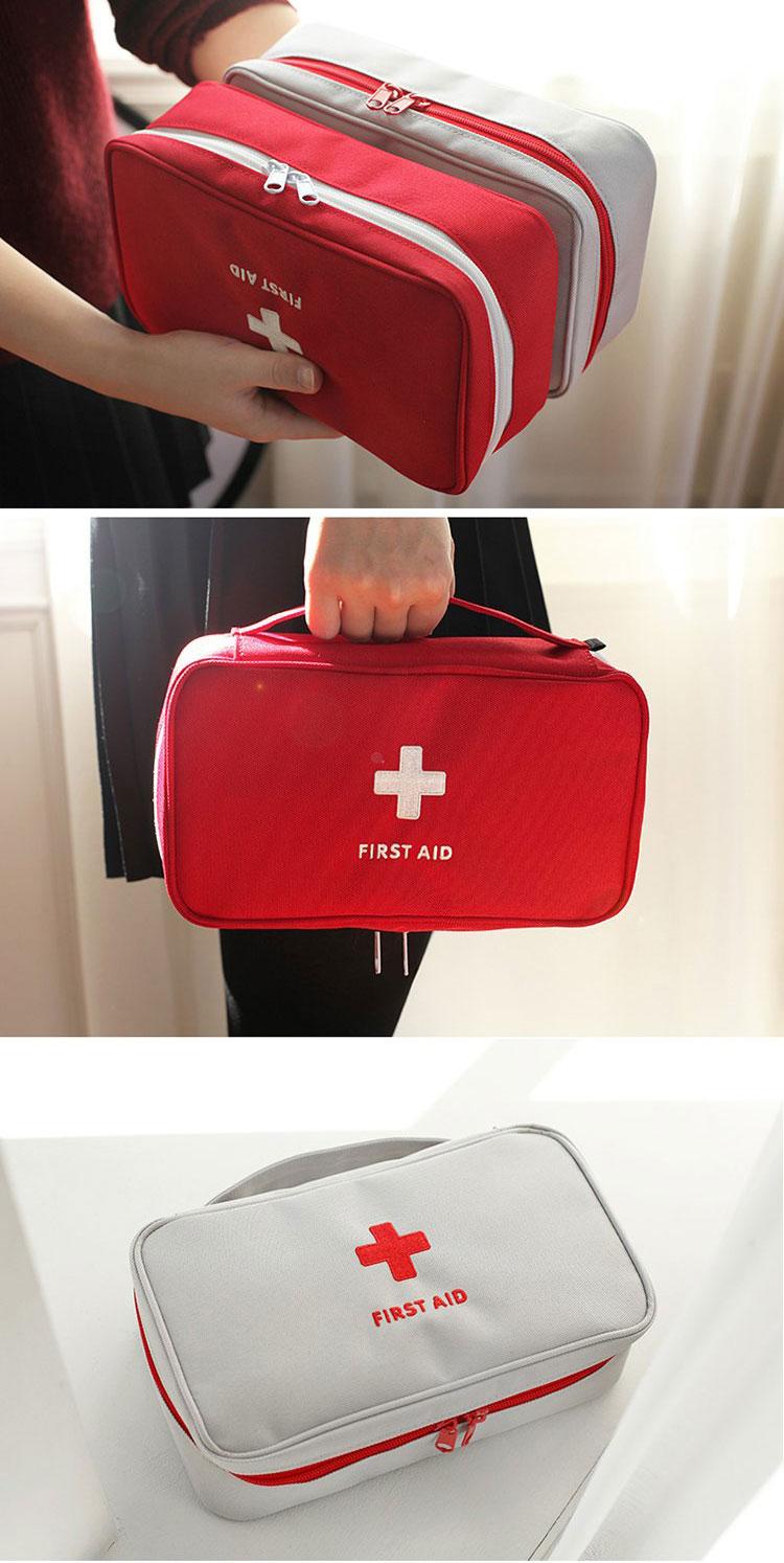 kit médicale rouge et kit gris