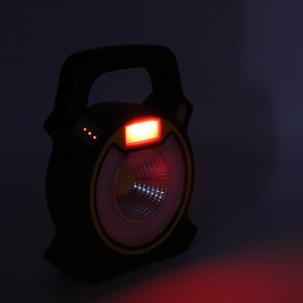 lampe avec faisceau lumineux rouge