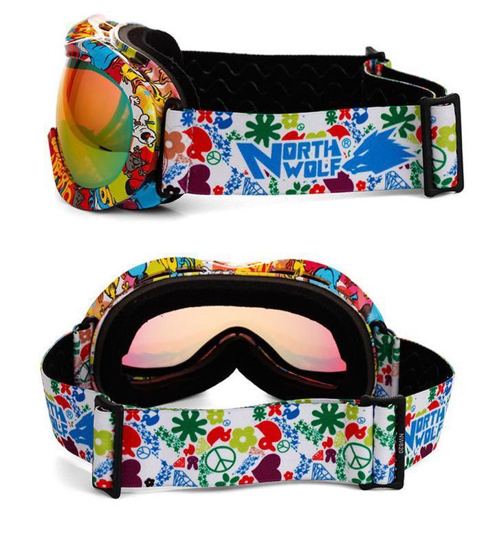 lunettes ski double
