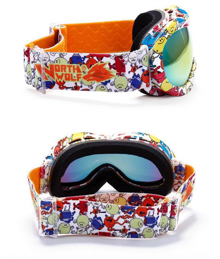 lunettes snowboard double