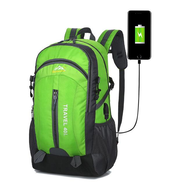 sac de voyage vert