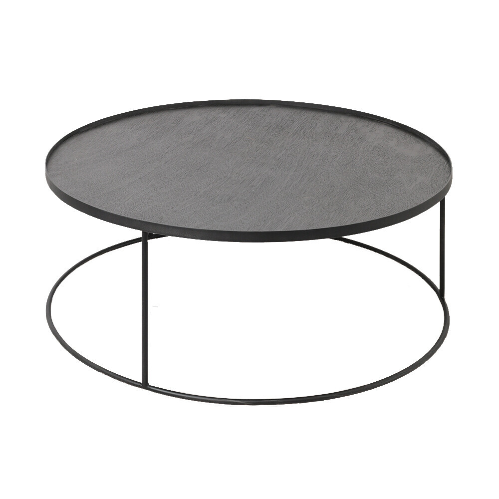 table round d93cm support plateaux ethnicraft