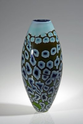 "Peter Bremers, ""Terrata 315"", 2003, N.W., graal techniek, 40x17x17 cm."