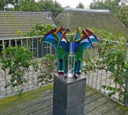 """Edith Benedictus Buning verwoordt met haar """"Gemeenschappelijkheid"""" de diepe betekenis van deze tentoonstelling!"""