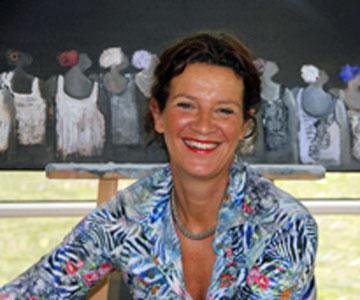 Sandra Holtman maakt samen met u het schilderij 'Ons Veluwe'