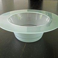 """Bert Frijns, """"Dodenlicht"""", 1990, diameter 51 cm."""