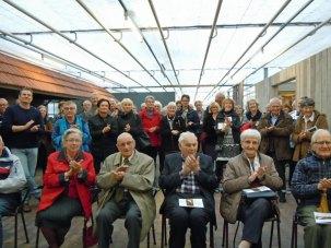 Een dankbaar publiek tijdens de opening.