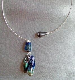 collier-zilverglas