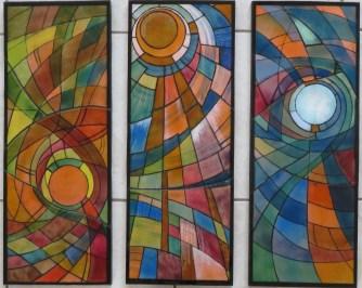 Daglicht - 3-delig - emaille - 68 x 26 cm