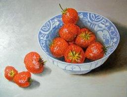 Schaal-aardbeien