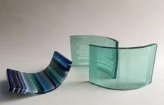 Triglas -repentechniek en float - set van drie.