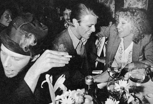 Tom Waits, David Bowie et Bette Midler