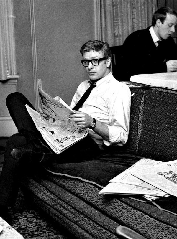 A young Michael Caine in 1959