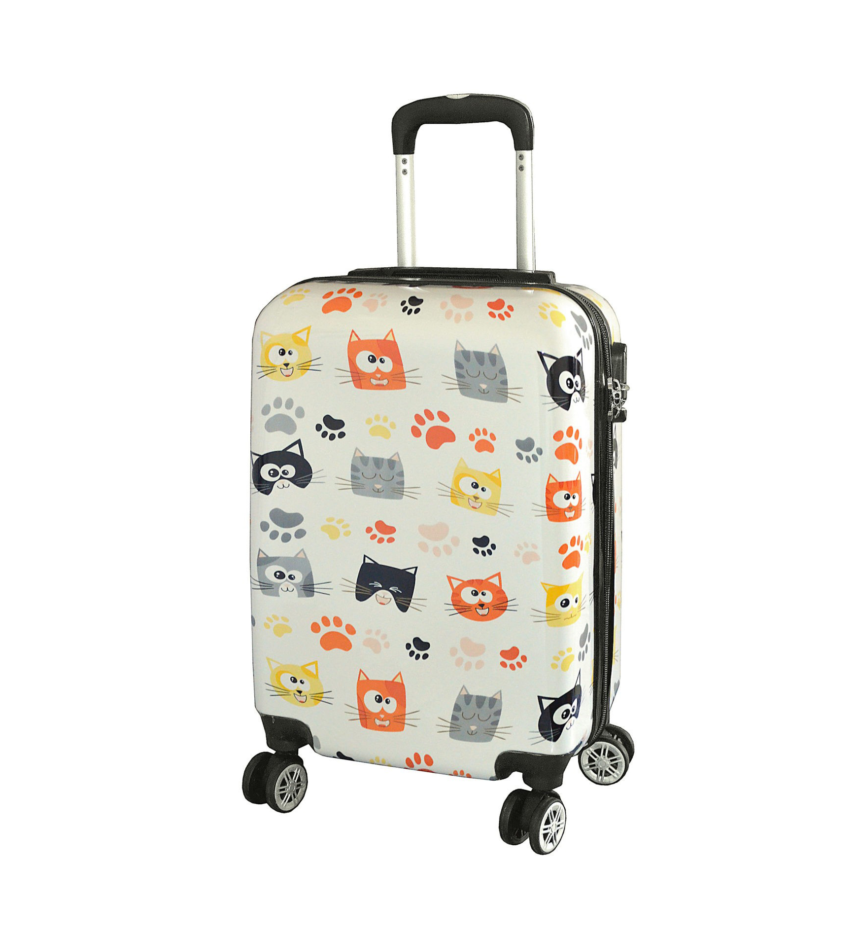 valise cabine 55 cm chatons