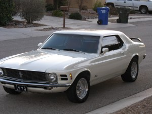 1970 Mustang Mods for 300 HP