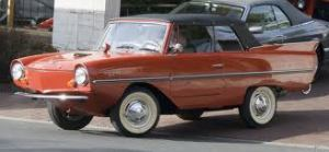 Amphicar - a flip of a lever and two propellers kicked in and made water-crossing a breeze.