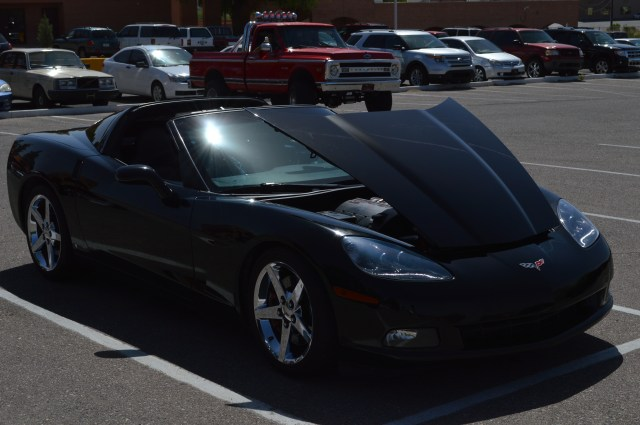 You might know this car.  Yup my c6.  Only Corvette to show up.