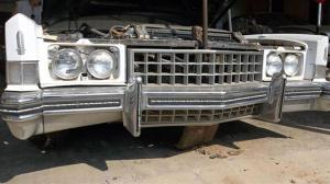 Grill and Headlight assemblies are all there!