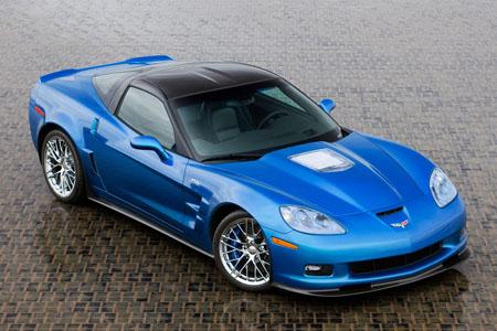 2009 ZR1 Blue Devil.
