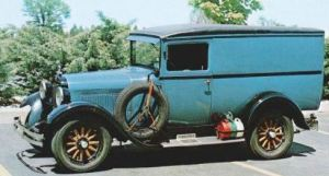 Love this 1927 Panel Truck