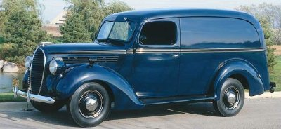 My favorite!! 1938 Ford delivery Van