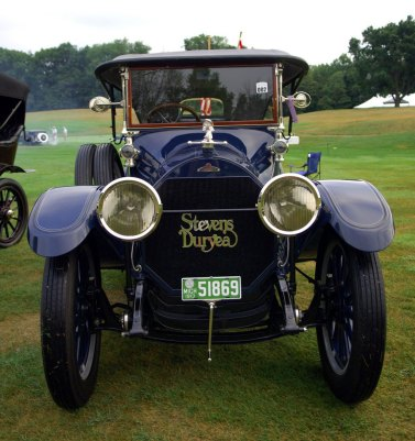 This is the Model C Touring car. Production continued until 1927.