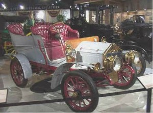 1904 gas powered Studebaker.