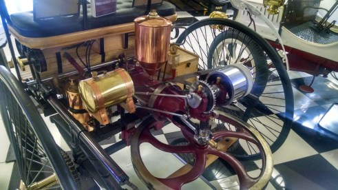 1886 Motorwagen - engine