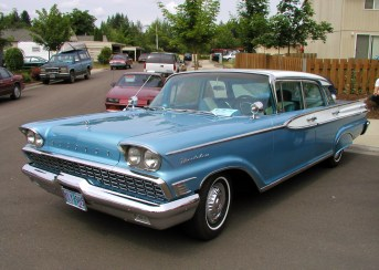 The 50 millionth looks a like the 1959 Mercury Montclair