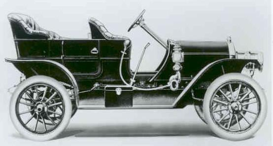 I believe they actually began producing cars in 1907.