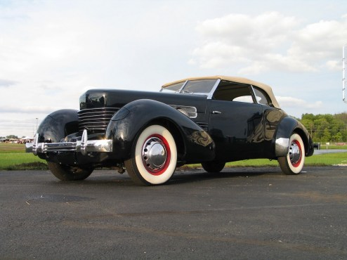 1935 Cord 810. This the Sportsmen Convertible