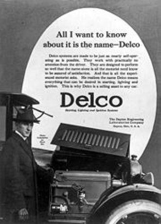 Dayton Engineering Laboratories Company, or Delco.